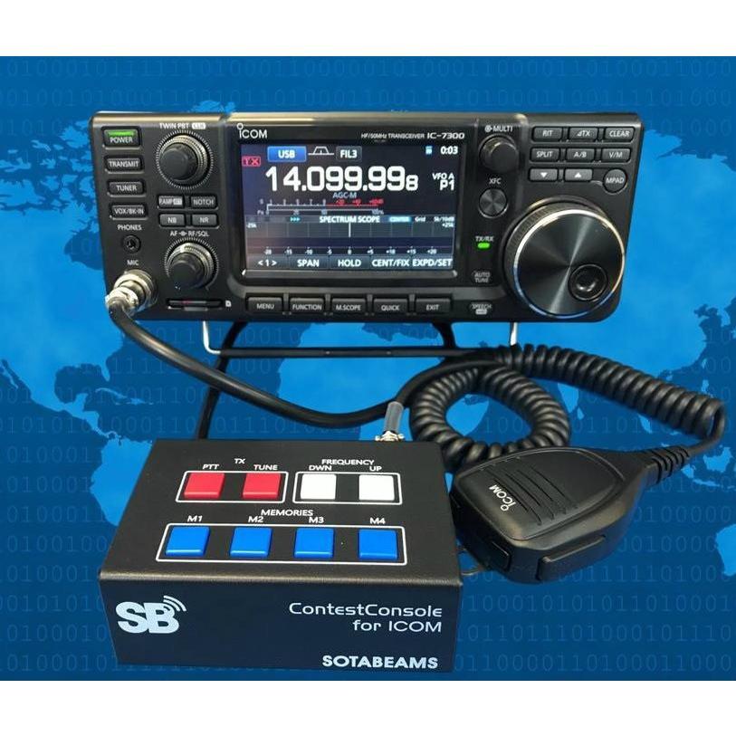 ICOM機用コンテストコンソール(チューニング用ケーブルなし) neu-tek2