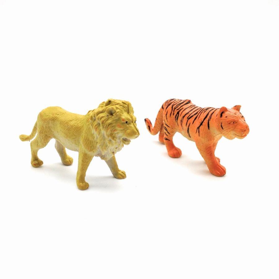 フィギュア 動物園 動物30匹 柵 木 草 セット|neustadt|04