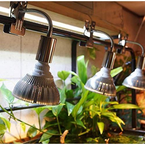 YC 観賞用 2019最新型 LED植物ライト 植物育成 スポットライト 口金E26 白/赤660nmLED使用 店舗照明 水耕栽培 室内栽|neverminds