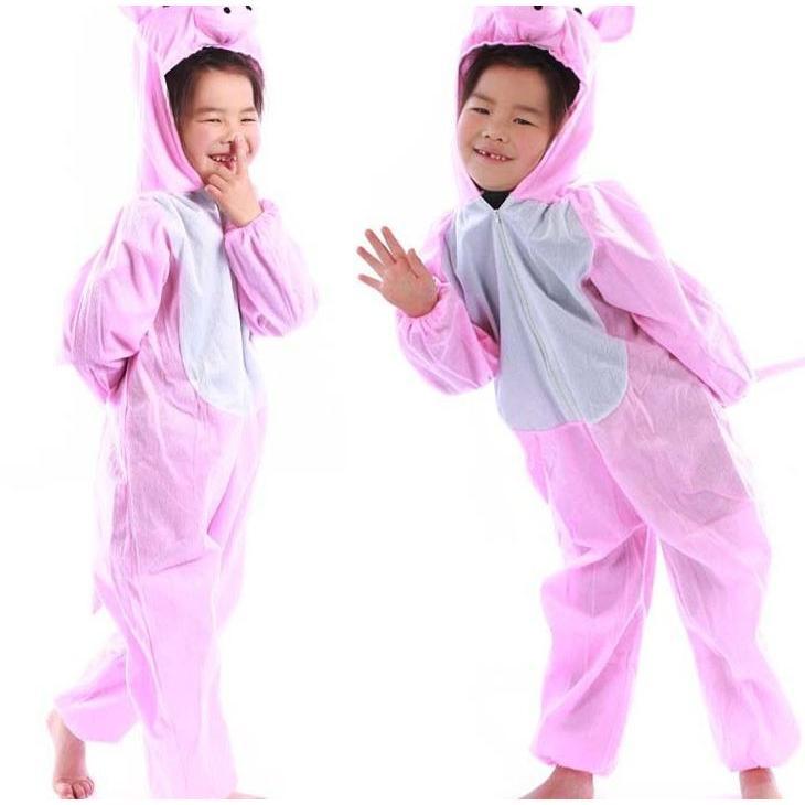e77e36f963adc5 着ぐるみ 豚 猪 イノシシ アニマル 動物衣装 キッズ 子供用 ハロウィン ...
