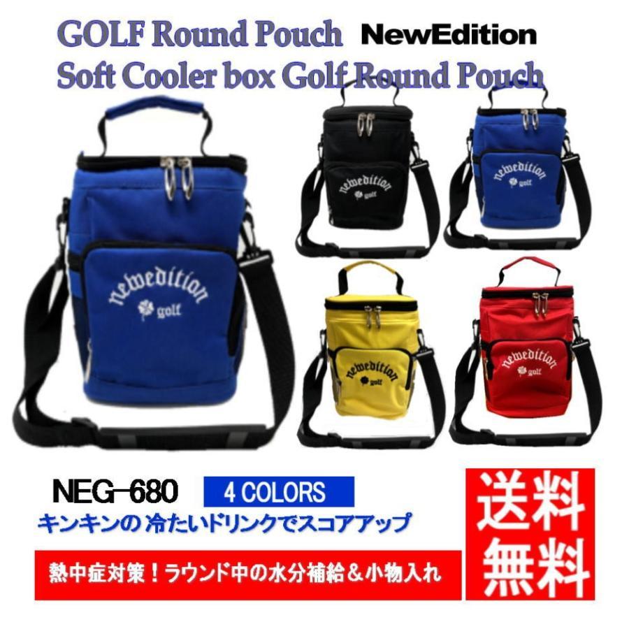 ゴルフ ラウンド ポーチ 保冷バッグ ラウンドトート ソフト クーラーボックス NewEdition NEG-680 メンズ バッグ レディース 父の日 セール特別価格 GOLF 2020秋冬新作