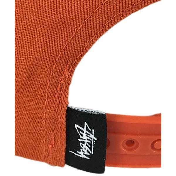 ステューシー スナップバック キャップ stock lock su18 オレンジ ピンクロゴ stussy●sbc822 neweditionhiphop 05