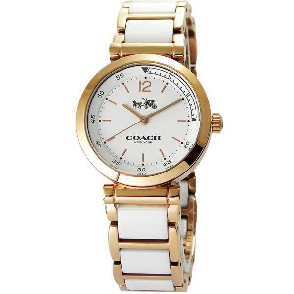 特別セーフ COACH コーチ Delancey デランシー 14502463 ホワイト×ローズゴールド 腕時計, 多賀町 a0e5b553