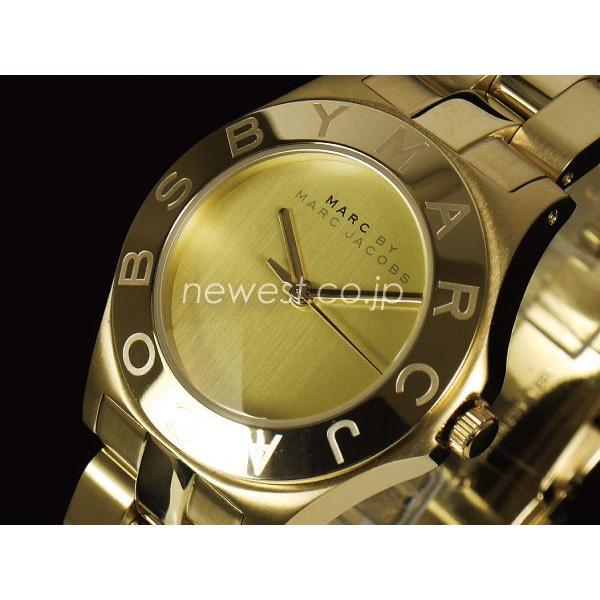 数量限定価格!! MARC BY MARC JACOBS マーク バイ マークジェイコブス New Blade ニューブレード MBM3126 ゴールド レディース 腕時計, フクヤマシ c0c48ee6