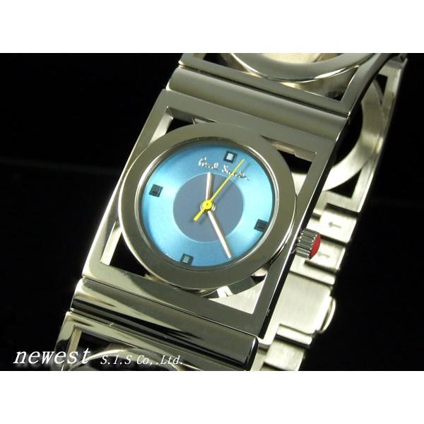 割引購入 Paul Smith ポールスミス 腕時計 PS84BRS ライトブルー バングルウォッチ レディース, JEANS-SANSHIN 2edb92b5