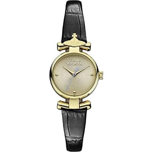 【時間指定不可】 Vivienne Westwood ヴィヴィアン ウエストウッド ゴールド文字盤 VV090GDBK レディース, サプリンクス ffb77c61
