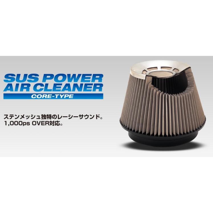 BLITZ ブリッツ コアタイプエアクリーナー SUS POWER 【26233】 車種:スズキ アルトターボRS 年式:15/03- 型式:HA36S エンジン型式:R06|newfrontier