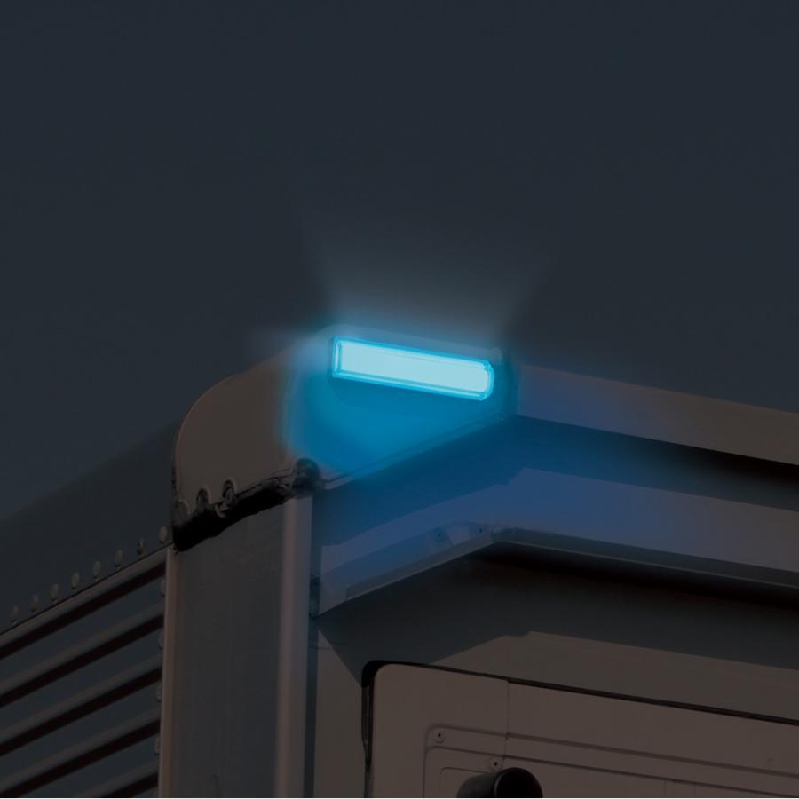 YAC 槌屋ヤック 閃光車高灯 ブルー CE-429|newfrontier|03