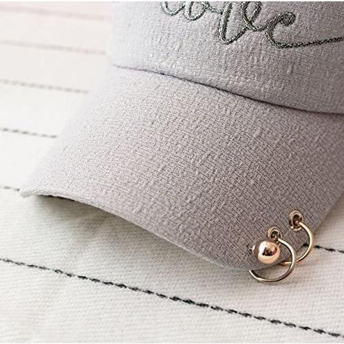 (Magno) レディース ロゴ キャップ 帽子 カジュアル シンプル (13 ピンク Free Size)|newlandjapan|02