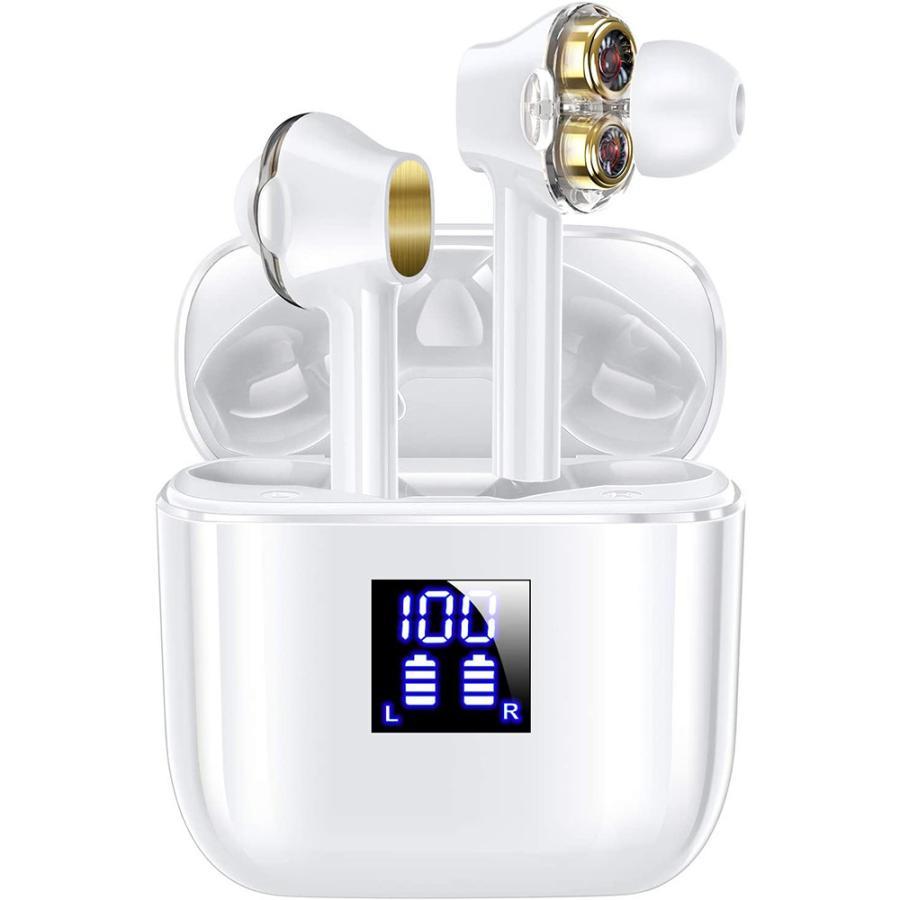 Bluetooth イヤホン ワイヤレス イヤホン 自動ペアリング ブルートゥース イヤホン 防水 マイク付き ハンズフリー通話|newpark