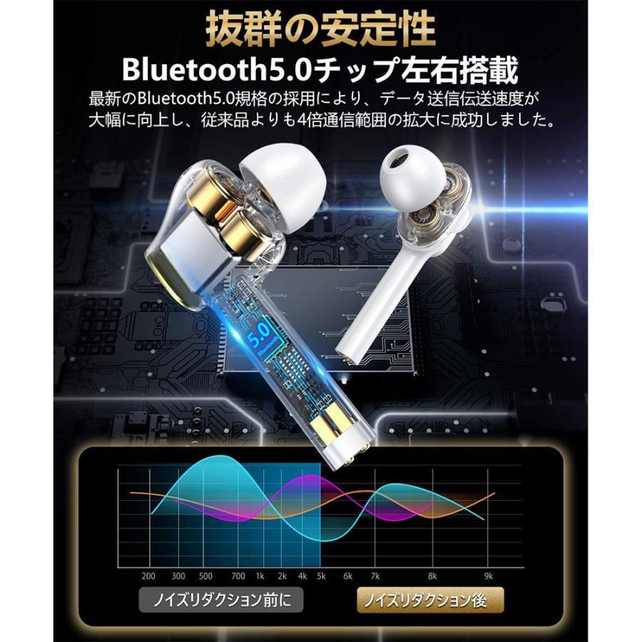 Bluetooth イヤホン ワイヤレス イヤホン 自動ペアリング ブルートゥース イヤホン 防水 マイク付き ハンズフリー通話|newpark|04