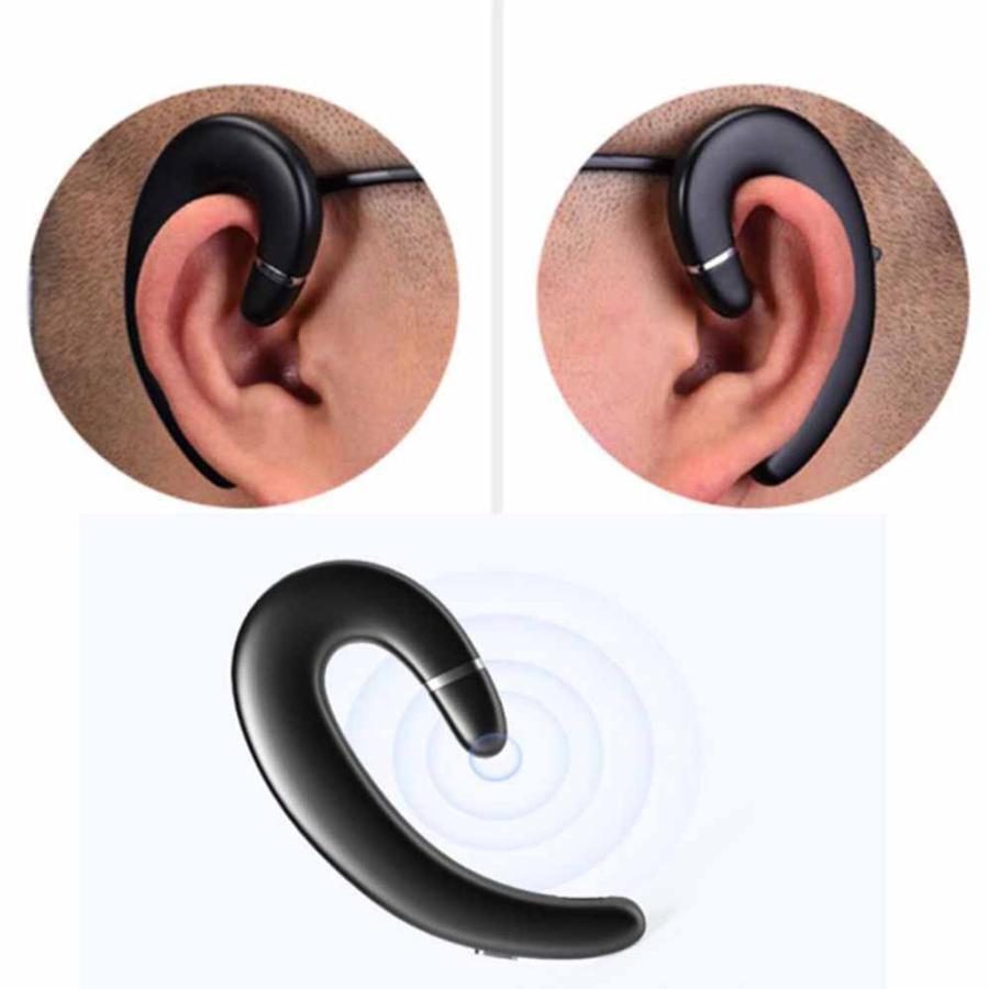 2021最新版 Bluetooth 5.0 耳掛け式Bluetooth イヤホン 片耳 自動ペアリング 高音質 スポーツ IPX5防水規格 完全ワイヤレス イヤホン 超軽量|newpark|14