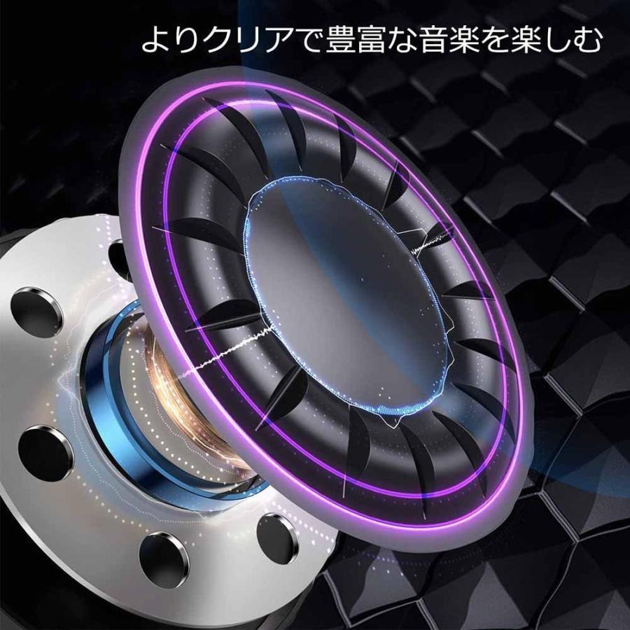 ヘッドホン Bluetooth ・ ケーブル着脱式・ 折りたたみ式 密閉型 マイク内蔵 USB-C急速充電 Hi-Fi マイクロSDカード|newpark|02