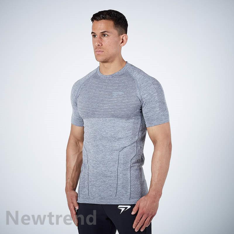 トレーニングウエア メンズ ジム 半袖 Tシャツ スポーツウェア 吸汗 フィットネス 筋トレ トレーニングトップス ヨガウェア 父の日 夏|newtrend-store|13