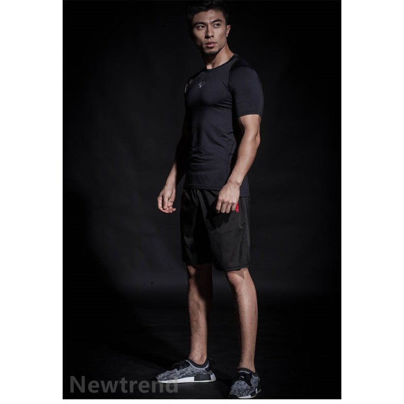 トレーニングウエア メンズ ジム 半袖 Tシャツ スポーツウェア 速乾フィットネス 筋トレ トレーニングトップス ヨガウェア 父の日 夏|newtrend-store|12