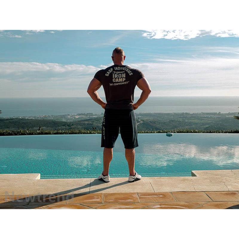 トレーニングウエア メンズ ジム スポーツウェア 吸汗  半袖 Tシャツ フィットネス 筋トレ トレーニングトップス ヨガウェア 父の日 夏|newtrend-store|06