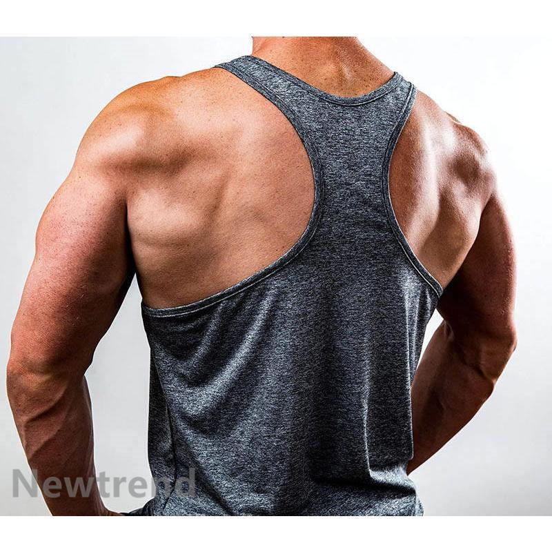 トレーニングウエア メンズ ジム チョッキ スポーツウェア 速乾 吸汗 フィットネス 筋トレ ベスト ヨガウェア 父の日 夏|newtrend-store|10