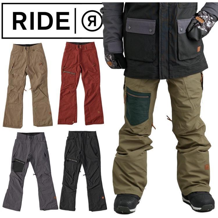 【RIDE】ライド CALLING PANT ウエアー スノーボードウェア パンツ ボトムス S M L CAPPEL カペル コーリング SNOW メンズ 男性 下 ウィンタースポーツ