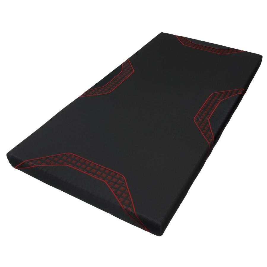 輸入 東京西川 エアーSI マットレス 高反発 厚み9cm レッド 硬さレギュラー シングル 贈り物 HWB7601000BK