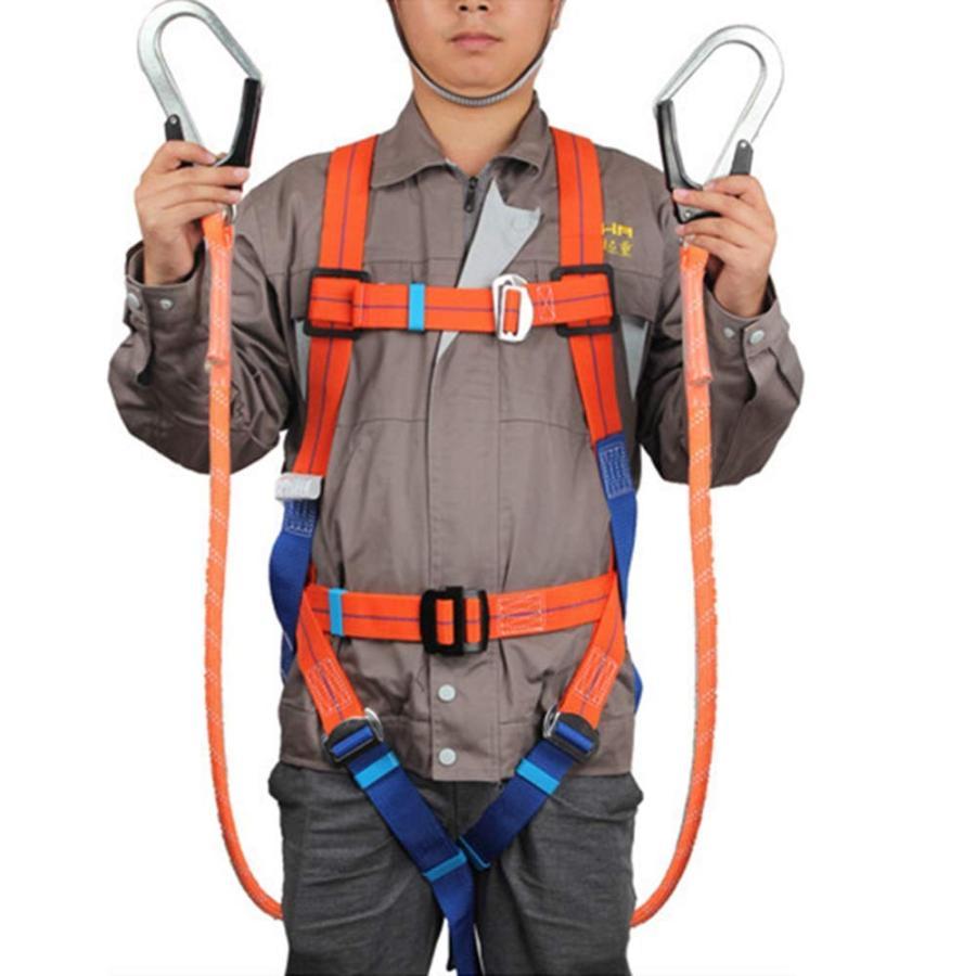 CompuClever フルハーネス 安全帯 ツインランヤード 墜落制止用器具 電気工事 落下防止 おすすめ特集 お歳暮 高所安全作業用