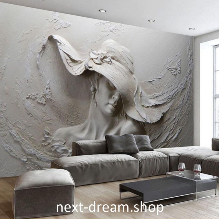 3d 壁紙 1ピース 1m2 彫刻 アート 防カビ 耐水 おしゃれ クロス インテリア 装飾 寝室 リビング H H Next Dream Shop 通販 Yahoo ショッピング