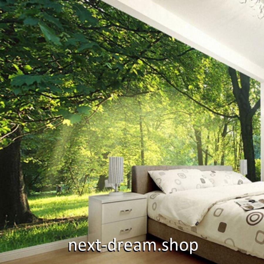 3d 壁紙 1ピース 1m2 自然風景 森林の景色 癒し インテリア 装飾 寝室 リビング H H Next Dream Shop 通販 Yahoo ショッピング