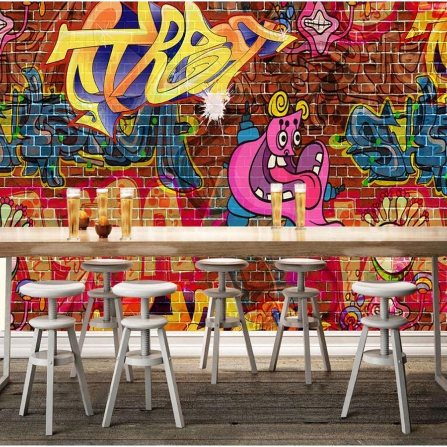 3d 壁紙 1ピース 1m2 ウォールアート 落書き アメリカン インテリア 装飾 寝室 リビング 耐水 防湿 H H Next Dream Shop 通販 Yahoo ショッピング