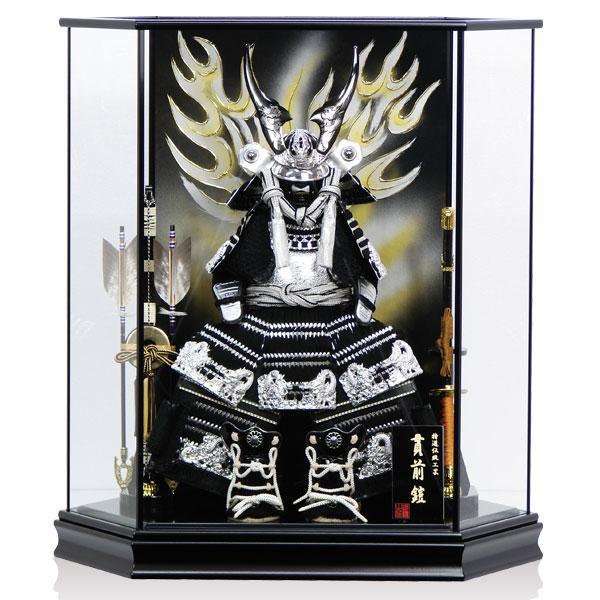 五月人形 兜 コンパクト ケース 展示現品 IE-016 (016) 鎧ケース飾り yoroi60-69