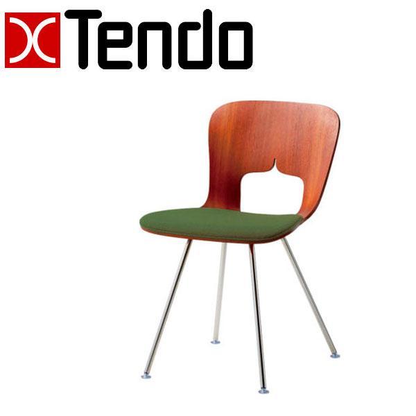 天童木工 チェア T-3036SP-ST 張り生地グレードA 椅子 パイプ
