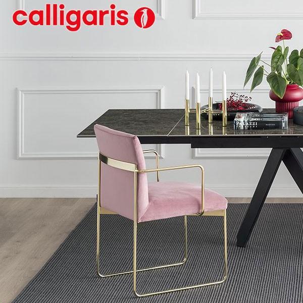 カリガリスチェアー Calligaris 椅子 (GALA ガラ CS/1867 フレーム:ブラス)Calligaris