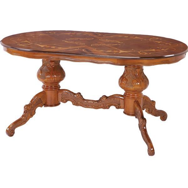 ダイニングテーブル 楕円形テーブル おしゃれ テーブルのみ 食卓テーブル table (ダイニングテーブル/ATC-DT03B-150N)