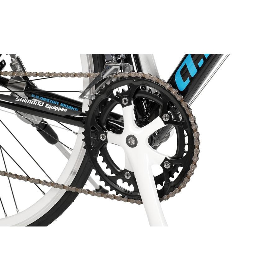 自転車 ロードバイク 初心者 700c 自転車 本体 軽量 アルミ STI 14段変速 お客様組立 アウトレット a.n.design works 5014AL|nextbike|10