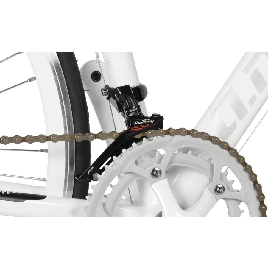 自転車 ロードバイク 初心者 700c 自転車 本体 軽量 アルミ STI 14段変速 お客様組立 アウトレット a.n.design works 5014AL|nextbike|07