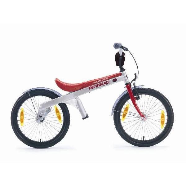 【キャッシュレスで5%還元】RENNRAD レンラッド 18インチ キッズ ステップアップ・バイク ランバイク・モード renradロゴ olタイプ