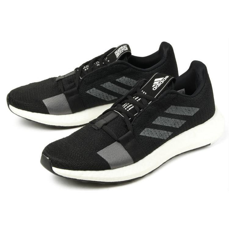 adidas(アディダス) SenseBOOST GO(センスブースト ゴー) F33908 ブラック/グレー