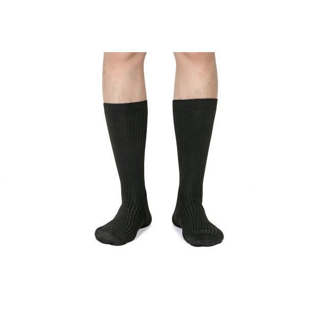 靴下 メンズ ビジネスソックス 抗菌防臭 5足セット 黒 24-28cm nextfreedom 11
