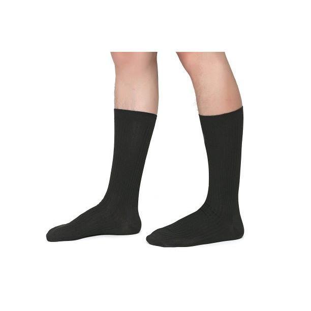 靴下 メンズ ビジネスソックス 抗菌防臭 5足セット 黒 24-28cm nextfreedom 12