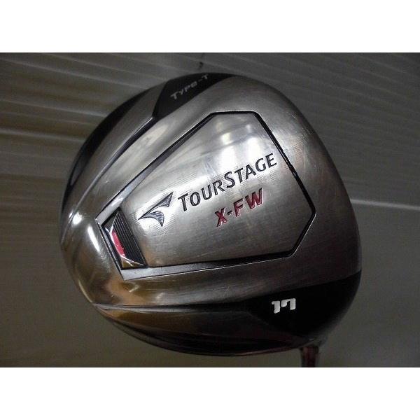 BRIDGESTONE ブリヂストン フェアウェイウッド TOURSTAGE X−FW Type−T 5W 17度 リシャフト品 TourAD ツアーAD EV−6 S 中古 ゴルフクラブ