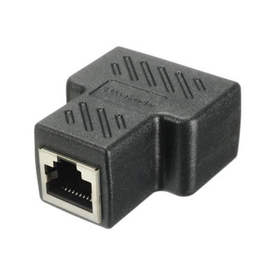 LANケーブル延長コネクタ 2分岐 初売り オンラインショッピング LANC2
