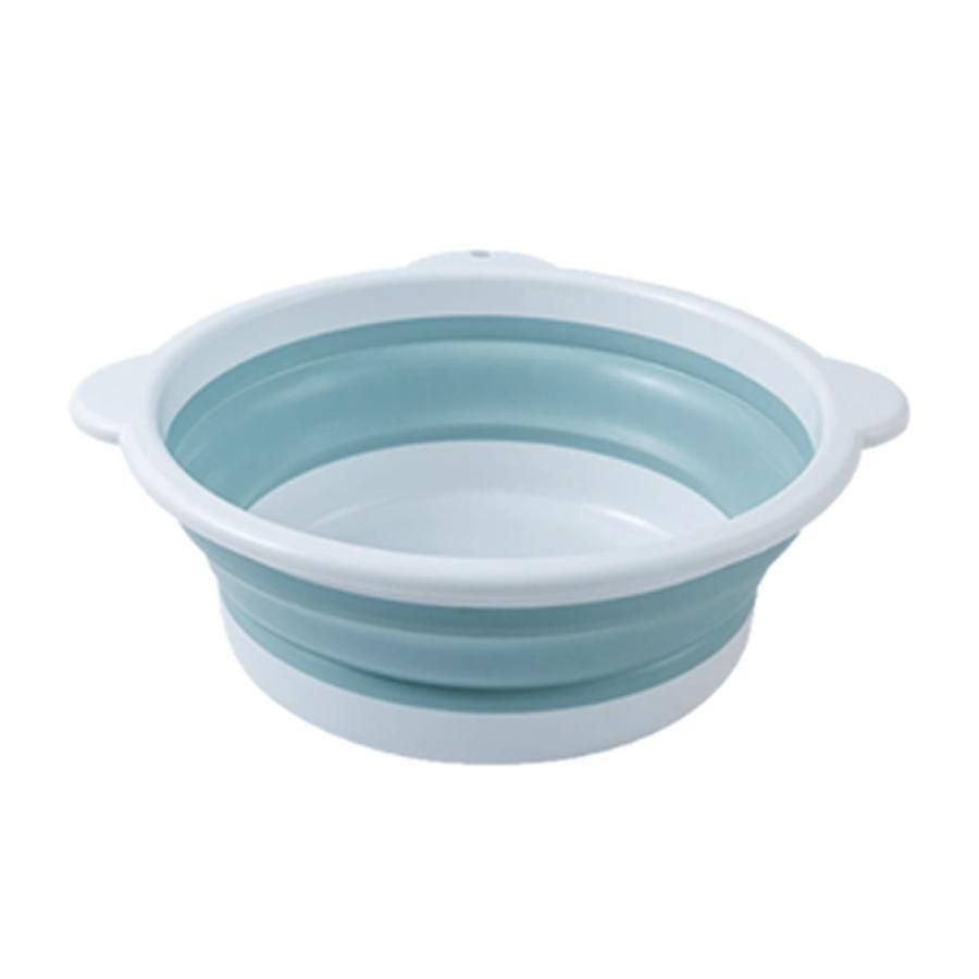 折りたたみ 洗い桶 Lサイズ 洗面器 たらい 洗い桶 足湯 掃除 洗濯 バス キッチン 洗車 コンパクト ORIAOS-L nexts 06