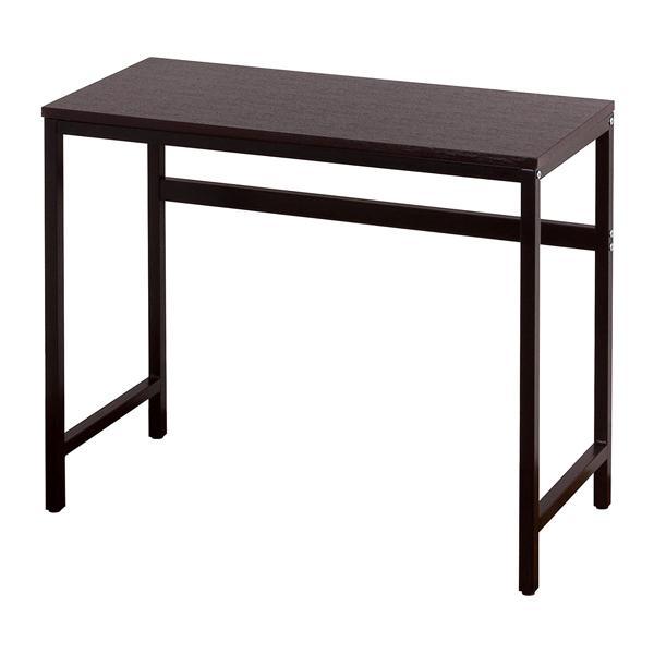 パソコンデスク おしゃれ ワークデスク スリム オフィスデスク シンプル テーブル 勉強 机  PCデスク 幅90 学習机 コンパクト 書斎 デスク 作業台 省スペース|nexus2020|05