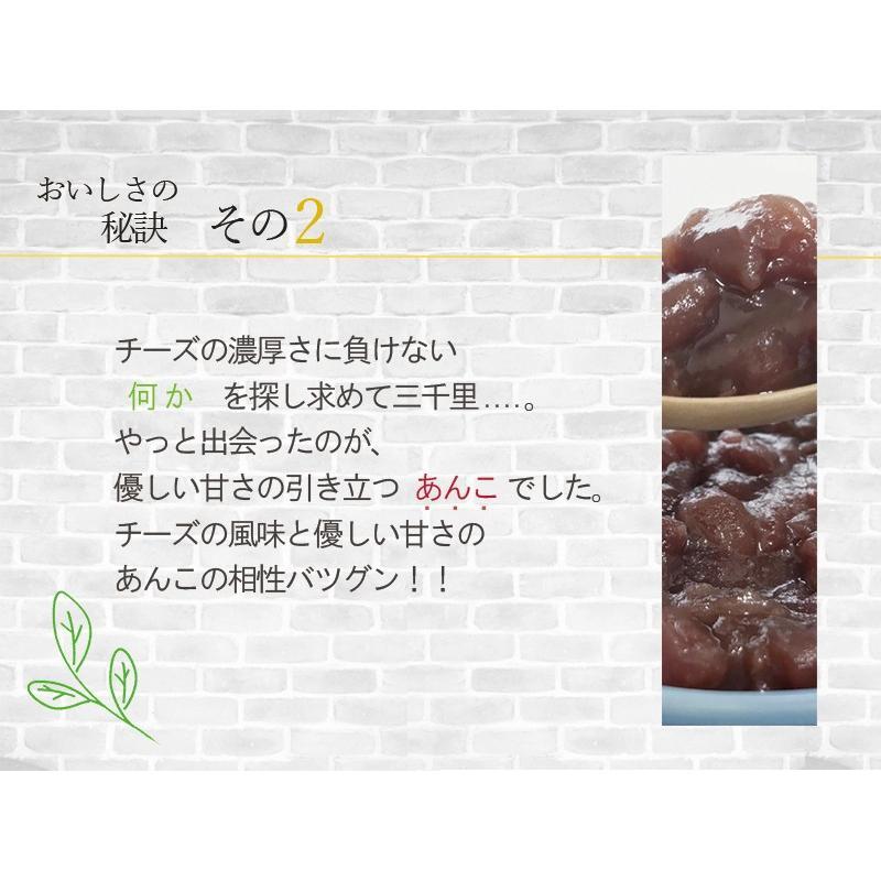 敬老の日 バスクチーズケーキ あんこ チーズケーキ 4号(3〜4人用) 和風チーズケーキ 手土産 nfcs 05