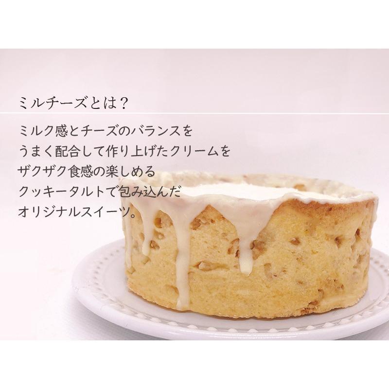 敬老の日 ミルクチーズタルト 【 4号 3〜4人用 】 チーズケーキ スイーツ ギフト nfcs 05