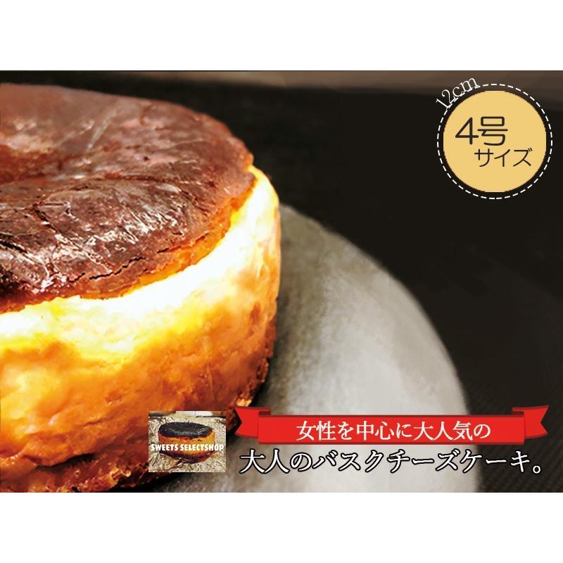 敬老の日 バスクチーズケーキ  チーズケーキ 4号(3〜4人用) 手土産 ギフト nfcs 02