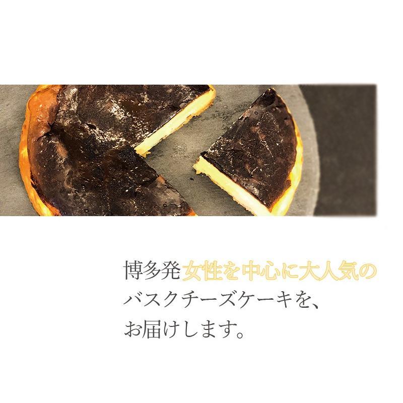 敬老の日 バスクチーズケーキ  チーズケーキ 4号(3〜4人用) 手土産 ギフト nfcs 03