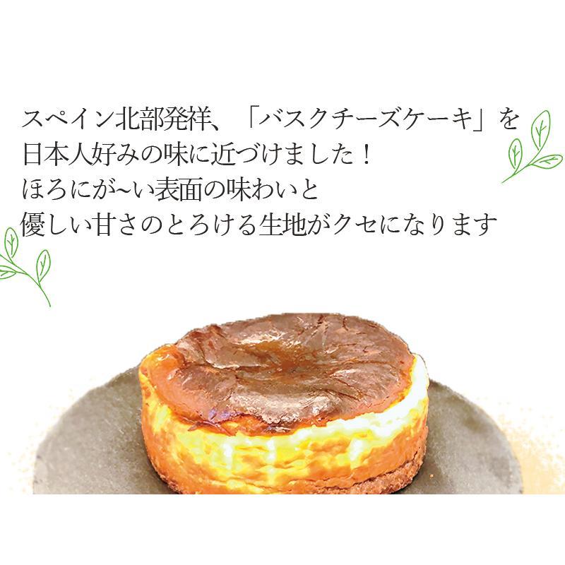 敬老の日 バスクチーズケーキ  チーズケーキ 4号(3〜4人用) 手土産 ギフト nfcs 04