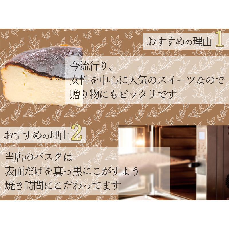 敬老の日 バスクチーズケーキ  チーズケーキ 4号(3〜4人用) 手土産 ギフト nfcs 05