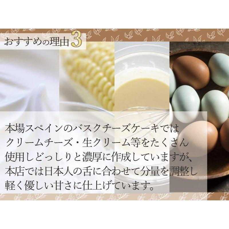 敬老の日 バスクチーズケーキ  チーズケーキ 4号(3〜4人用) 手土産 ギフト nfcs 06