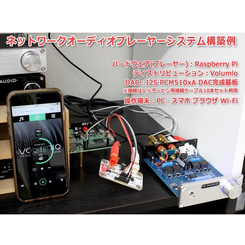 I2S [IIS] 入力DAC PCM5102A搭載32bit 384kHz DAC完成基板 Raspberry Pi 動作OK nfj 03
