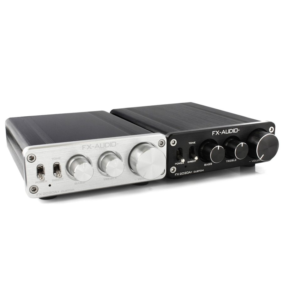 FX-AUDIO- FX-2020A+ CUSTOM [シルバー]TRIPATH製TA2020-020搭載デジタルアンプ|nfj|04